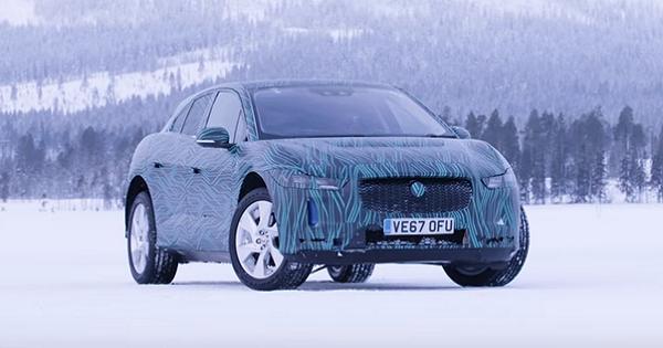 Jaguar показала на видео свой первый электрический кроссовер I-Pace
