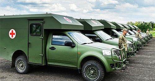 Министерство обороны приостановило поставку взону АТО санитарных авто «Богдан»
