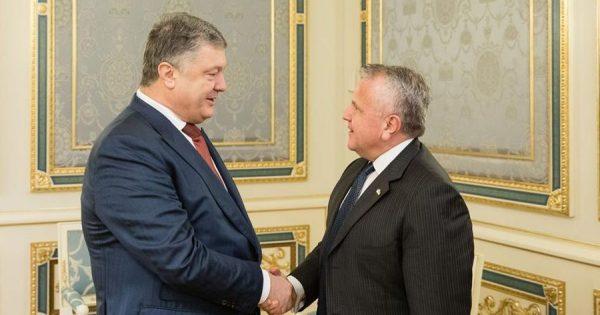 порошенко и саливан