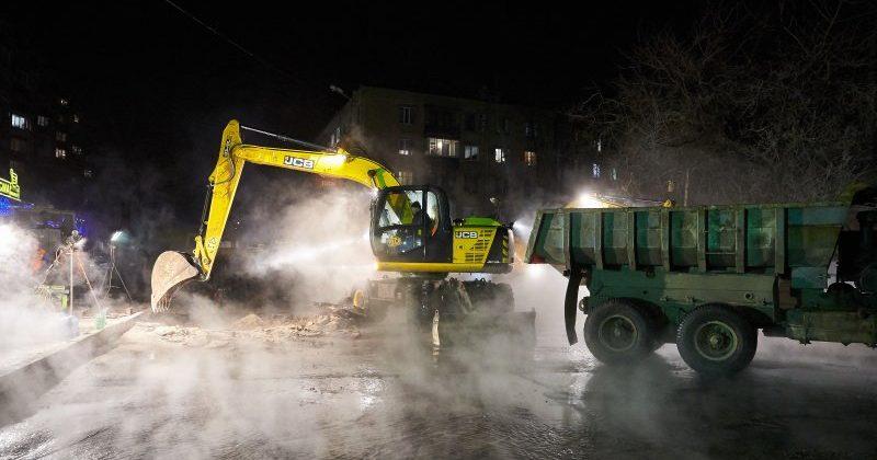 ВХарькове разорвало магистральный трубопровод: Без тепла около 400 объектов