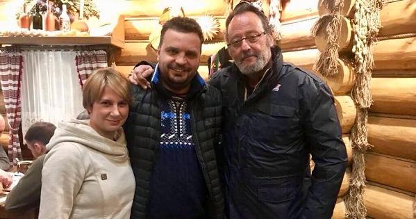Жан Рено прибув уКарпати для зйомок вукраїнсько-французькому трилері