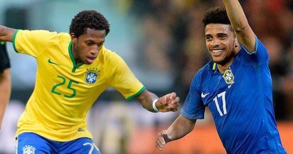 Коутиньо и Виллиан вошли в заявку сборной Бразилии по футболу на матч с Россией