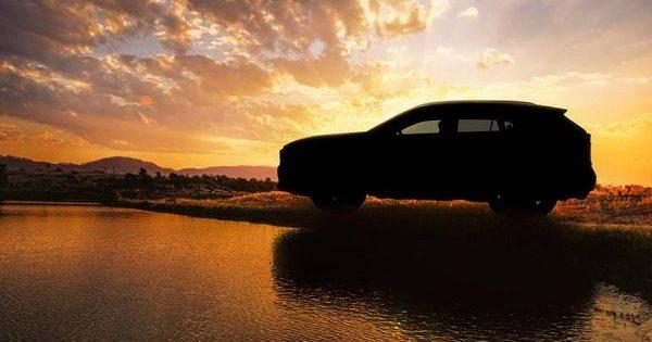 Новый кроссовер Тойота RAV4: первое официальное изображение