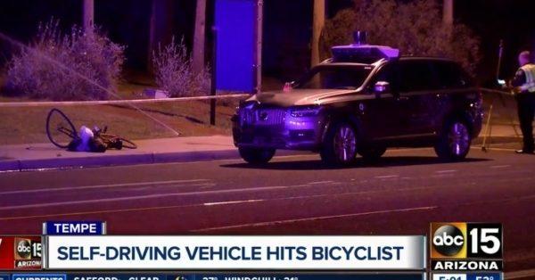 Uber прервал испытания беспилотных такси после аварии в Аризоне