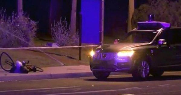 Американские полицейские ненашли вины автоматики Uber всмертельном ДТП