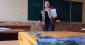 Вчителька з Василькова виховує школярів на уроці