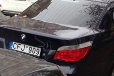 авто на иностранной регистрации