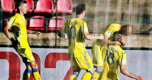 Футболісти України незуміли виграти узбірної Саудівської Аравії
