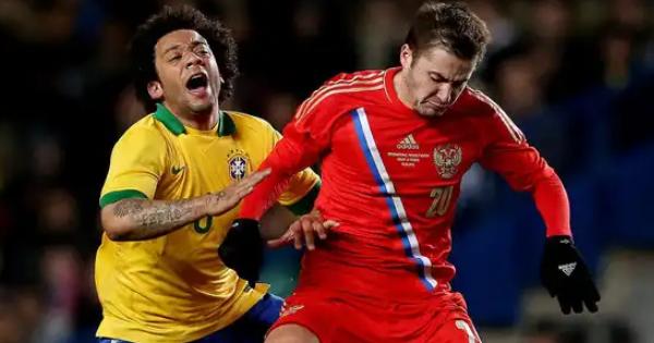 Бразилия разгромила РФ срезультатом 3:0