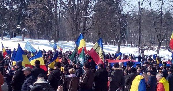 В Кишинёве сторонники объединения с Румынией намерены провести сегодня самую массовую за последние годы акцию