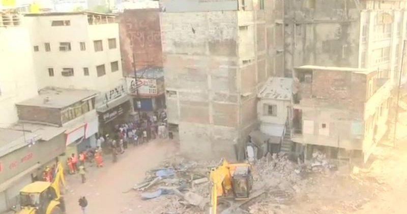 В Індії обвалився готель— є жертви