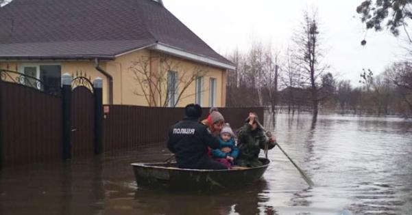 М.Охтирка: триває ліквідація наслідків підтоплення— 43 людини евакуйовано (ВІДЕО)— ДСНС України