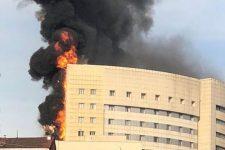 Пожежа у Стамбулі - горить лікарня