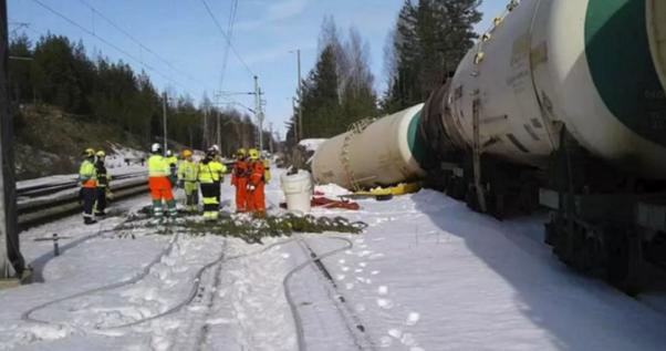 Екокатастрофа у Фінляндії: 50 тис. літрів ефіру витекло у навколишнє середовище