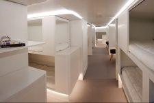 Ліжка у літаку