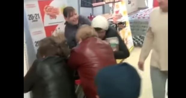Бійка у магазині