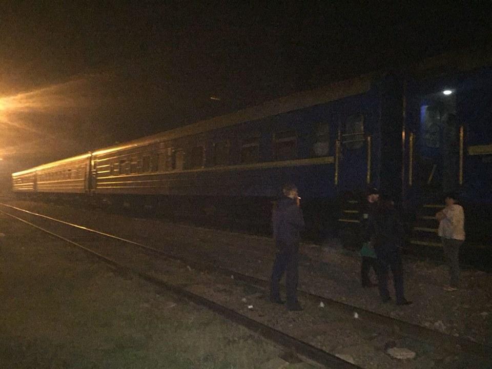 Потяг в Одесі