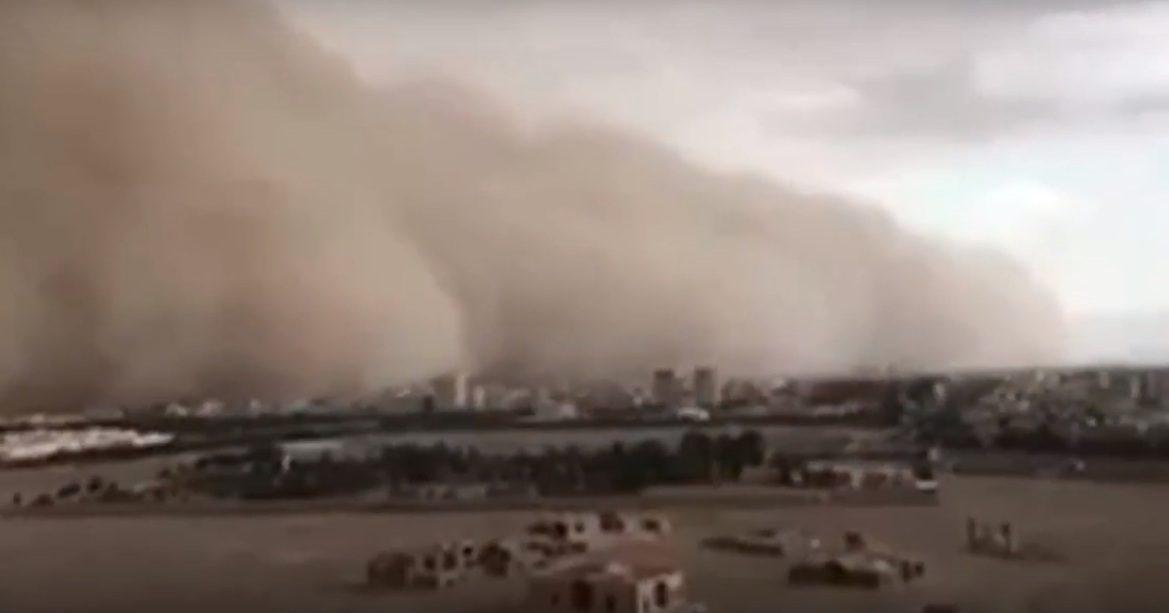 Піщана буря в Ірані