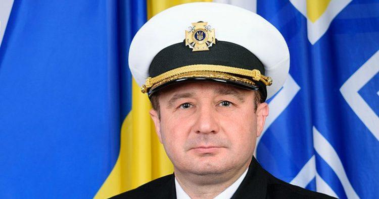 Руководителя штаба ВМС Украины сняли сдолжности из-за жены-россиянки