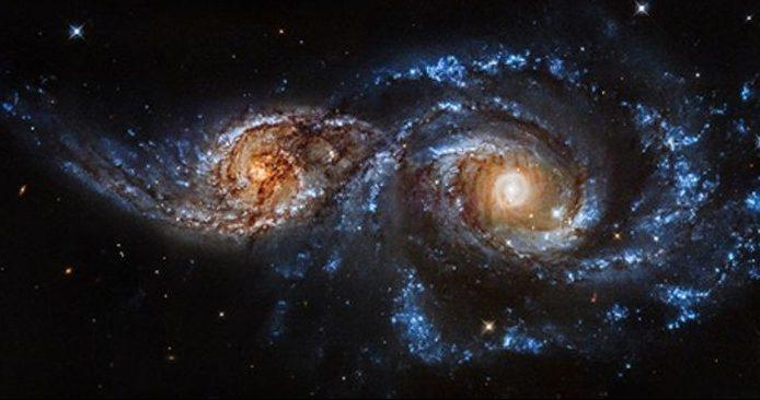 Злиття галактик