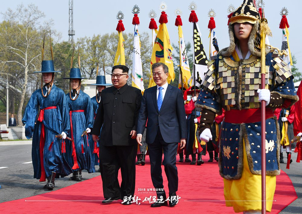 КНДР Південна Корея