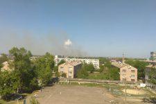 На складі боєприпасів у Балаклії вибухи