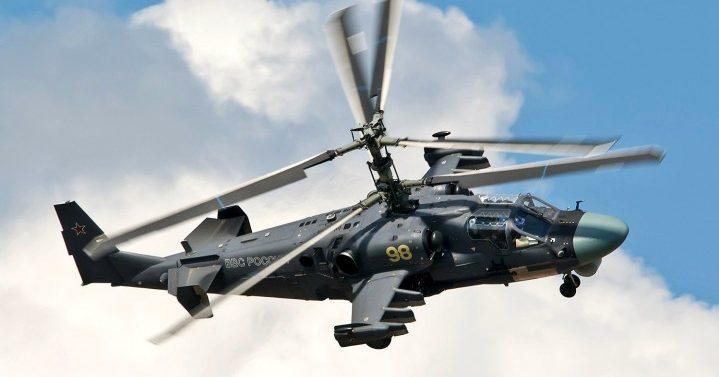 Військовий вертоліт РФ Ка-52