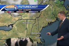 Собака увірвався в ефір прогнозу погоди