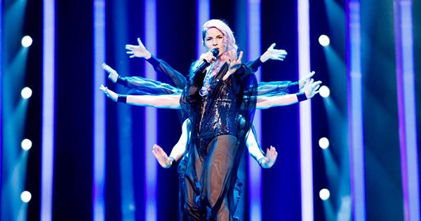 Словенія на Євробаченні 2018