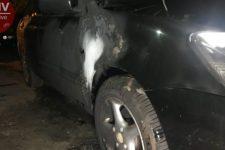 У Києві журналісту підпалили автомобіль