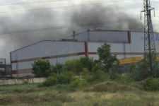 Пожежа на заводі у Дніпрі