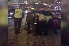 У центрі Києва напали на футбольних фанів – постраждало двоє іноземців