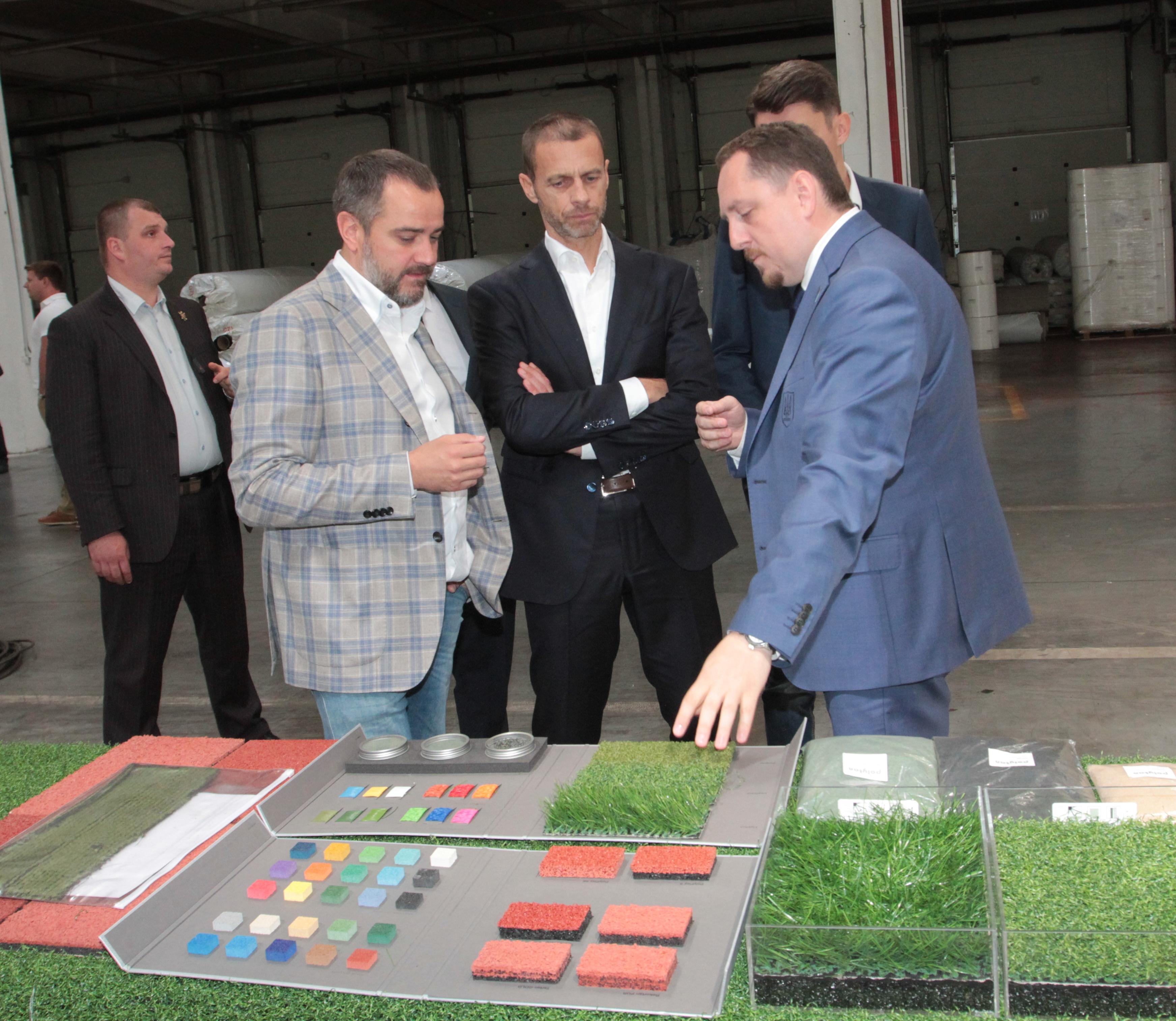 Президент УЄФА: Андрій Павелко та ФФУ проводять велику роботу з розвитку футболу