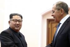 Кім Чен Ин і Лавров