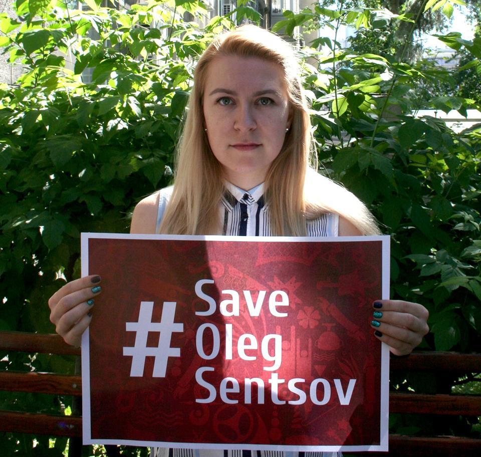 Команда ICTV долучилася до акції #SaveOlegSentsov
