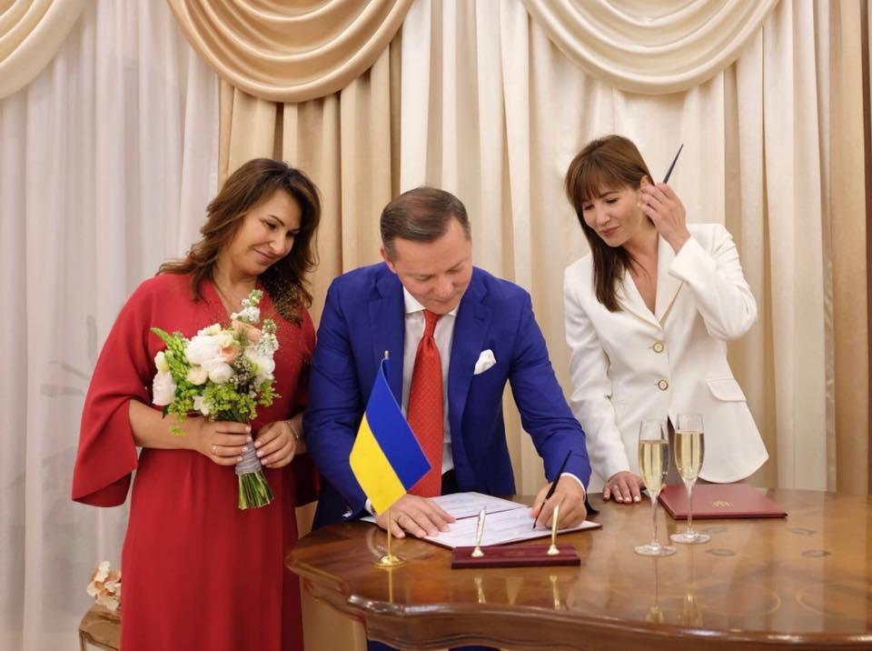 Олег Ляшко одружився