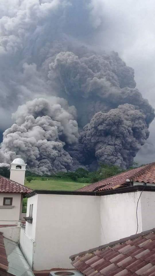 Вулкана у Гватемалі