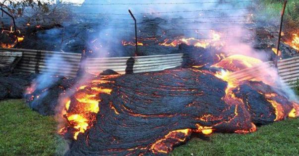 Вулкан у Гватемалі