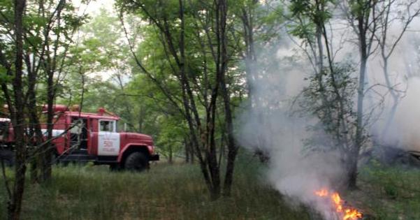 Пожежа у Чорнобилі
