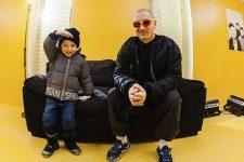 Юрій Бардаш із сином