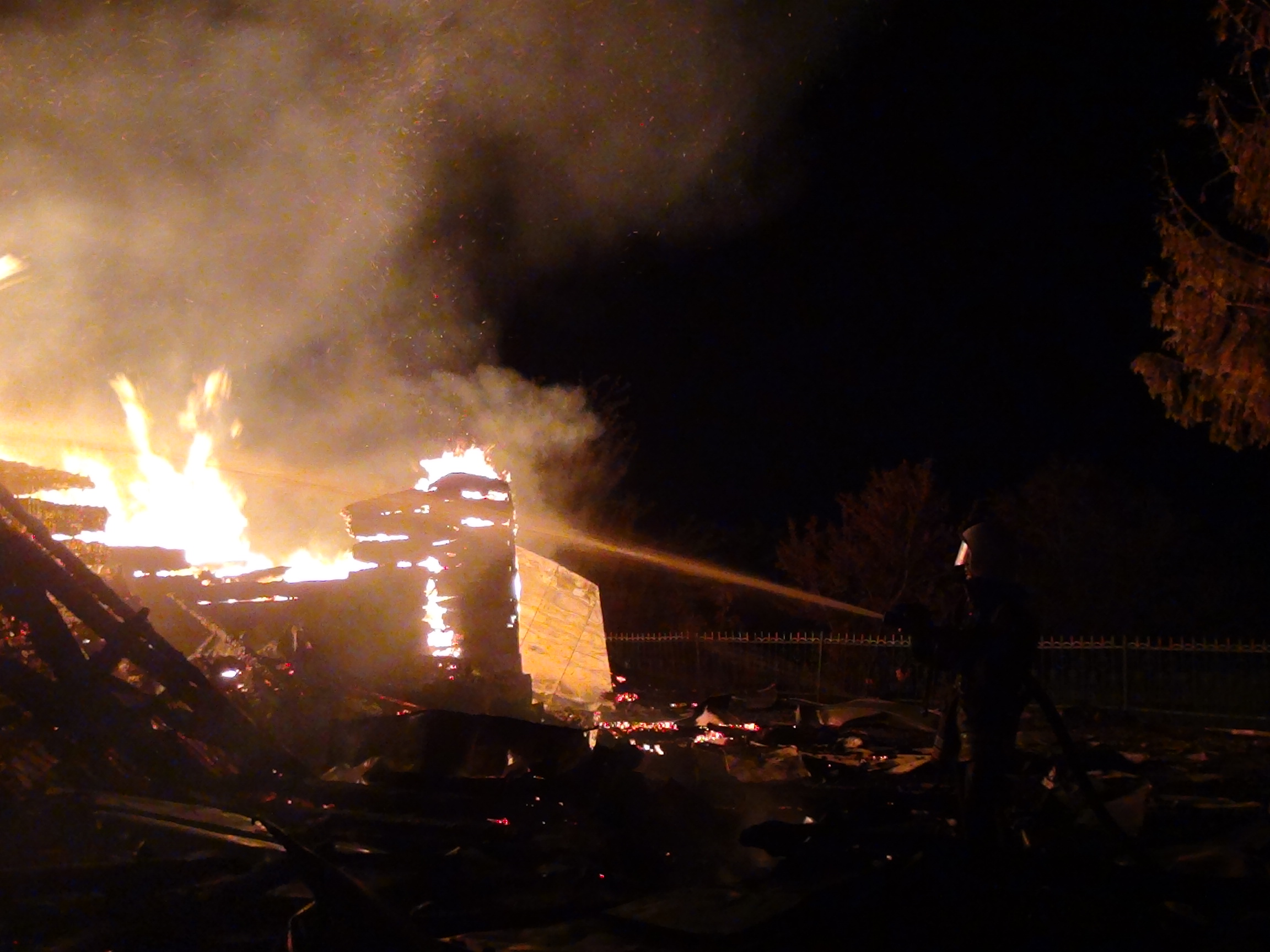 Згоріла церква