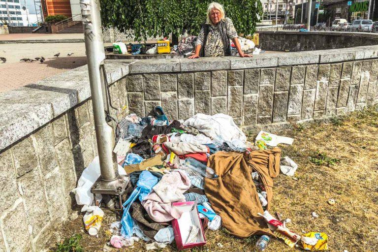 Роми розмістили у Києві новий табір і б'ють перехожих
