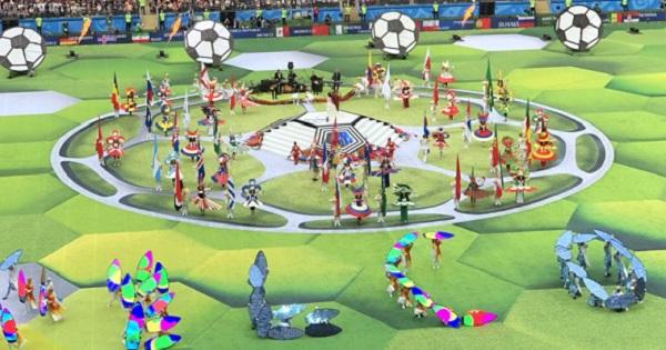 Володя, класний бюстгальтер: меми на відкриття ЧС-2018 з футболу