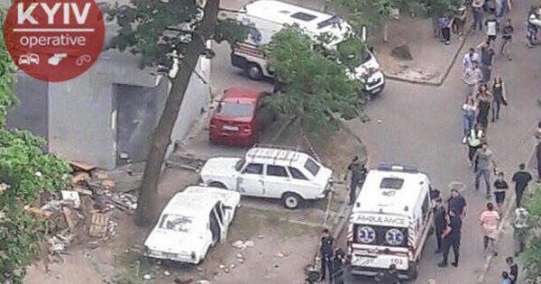 У Києві стався вибух в авто