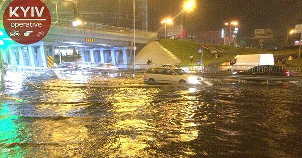 Негода в Києві