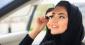 Арабська жінка в авто