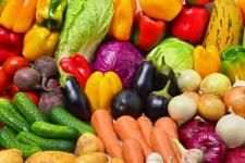 овочі фрукти нітрати