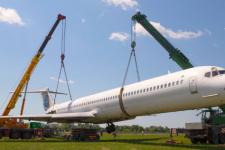 Літак в Жулянах