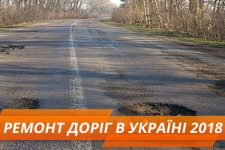 ремонт доріг в україні 2018
