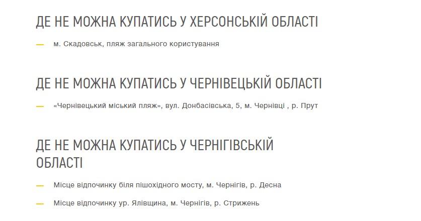 Пляжі Україїни